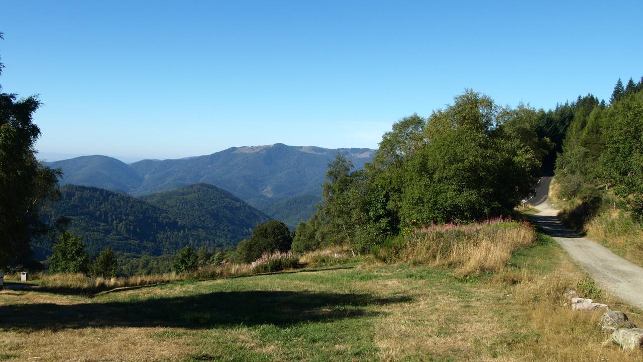 Firstacker - vue sur le Rossberg