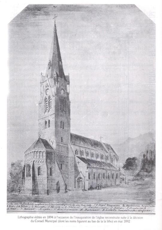 Lithographie de 1894