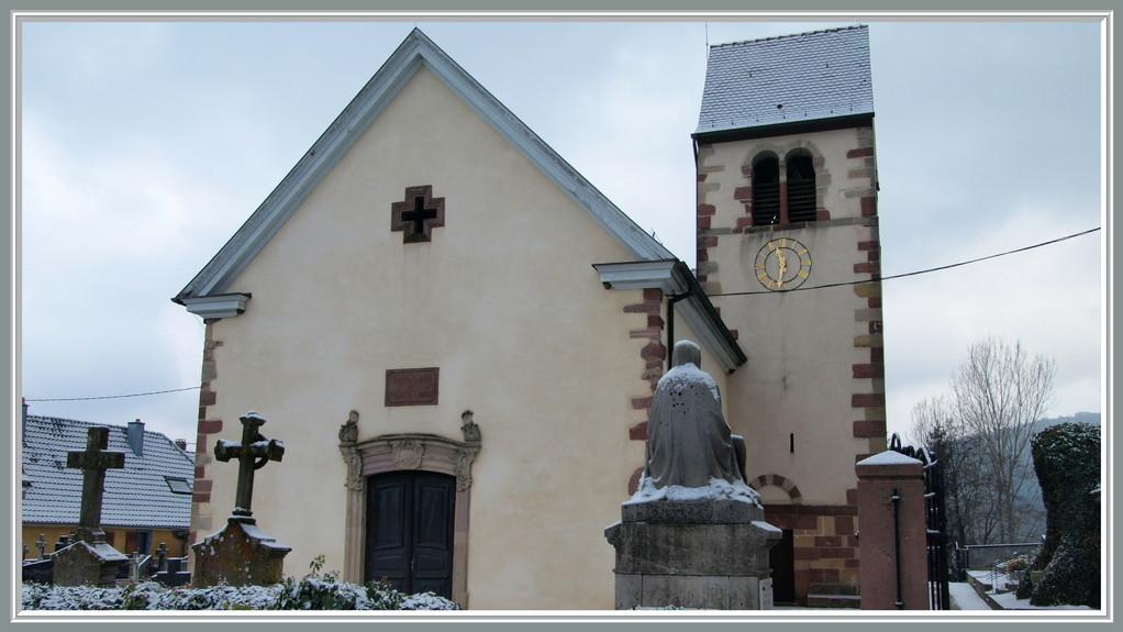 Eglise Ste Odile de Wintzfelden