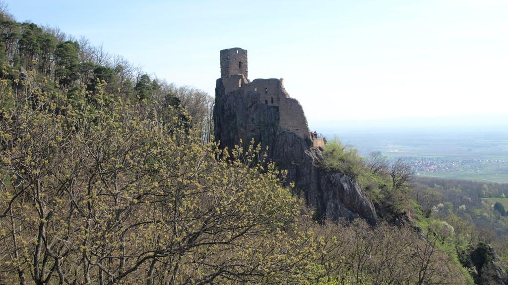 Girsberg vu du Saint Ulrich