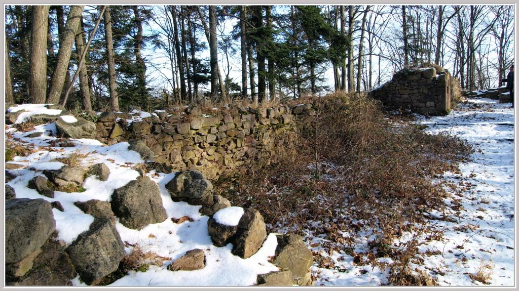 Ruines du couvent de Sylo
