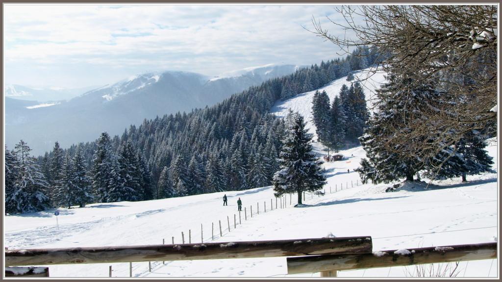 Vue du Schanzwasen en hiver