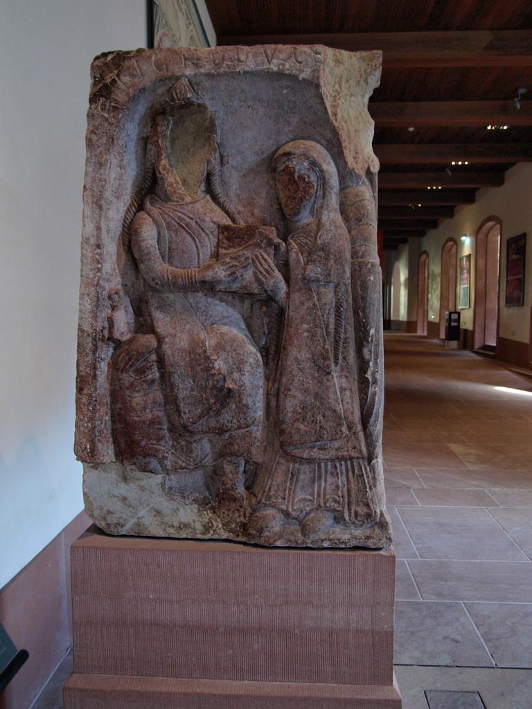 Le duc Attic et sa fille Odile
