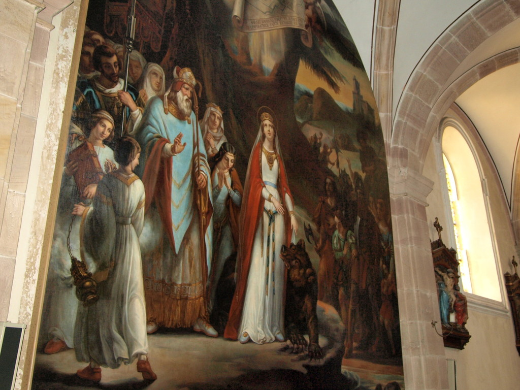Tableau de Sainte Richarde