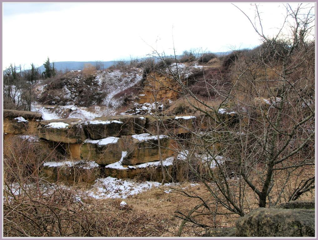 La carrière de calcaire du Strangenberg