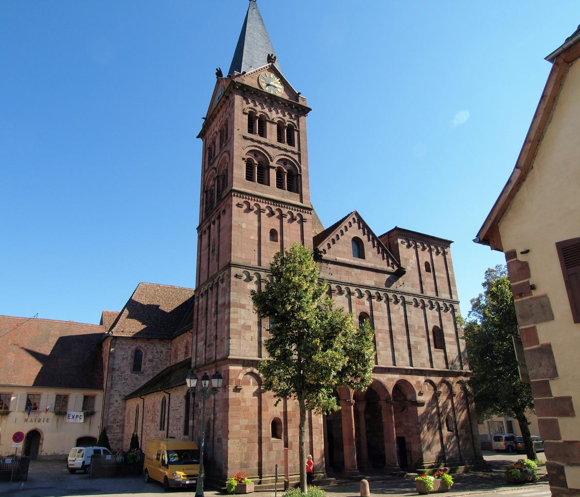 Collégiale Saint Michel et Saint Gangolphe de Lautenbach