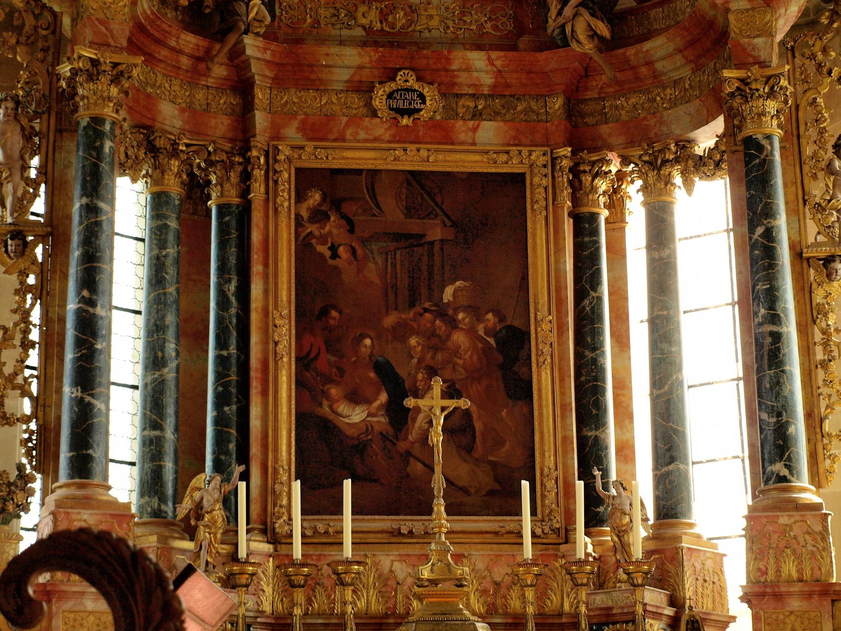 Eglise abbatiale Saint Maurice : l'autel