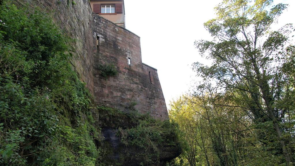 Au pied du Staedtel et du Château