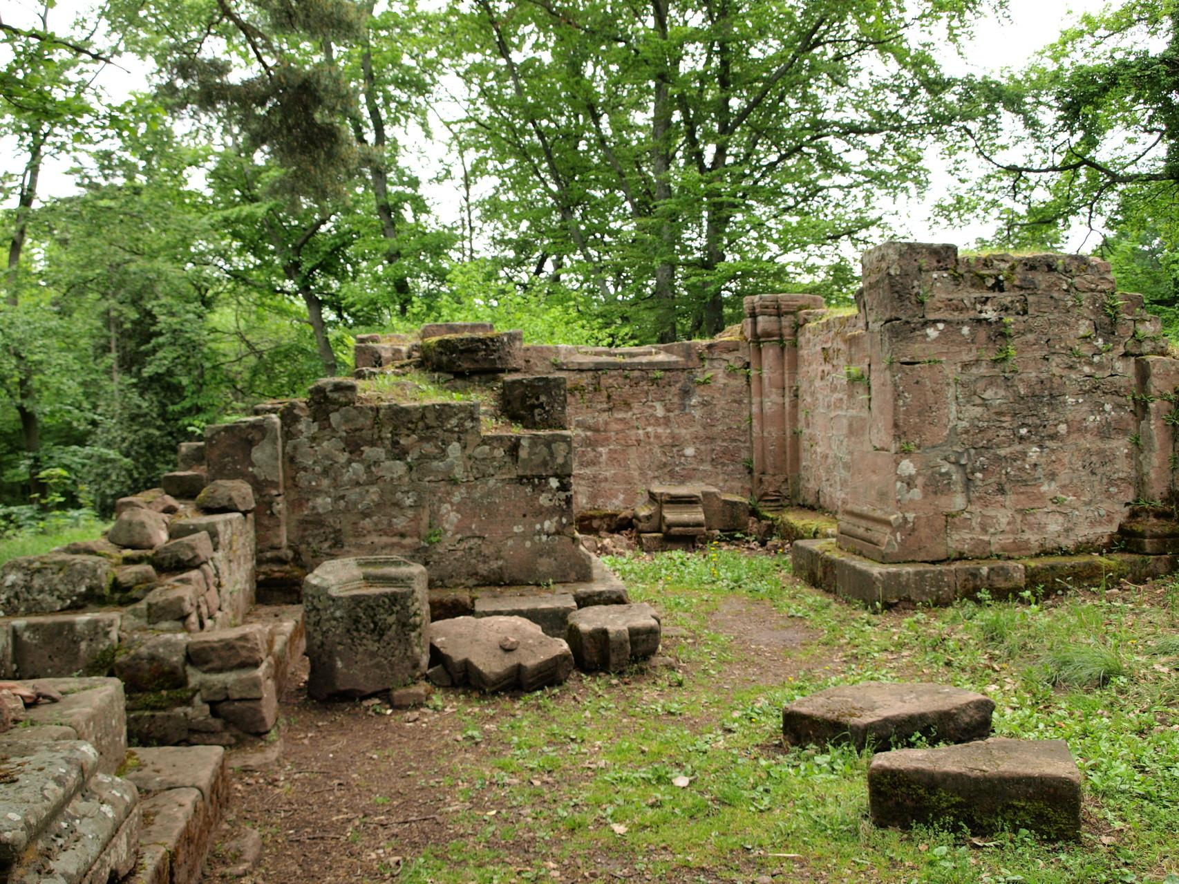 Ruines de Saint Jacques