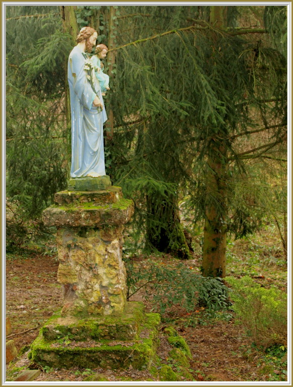 Baerenthal : statue de Saint Joseph