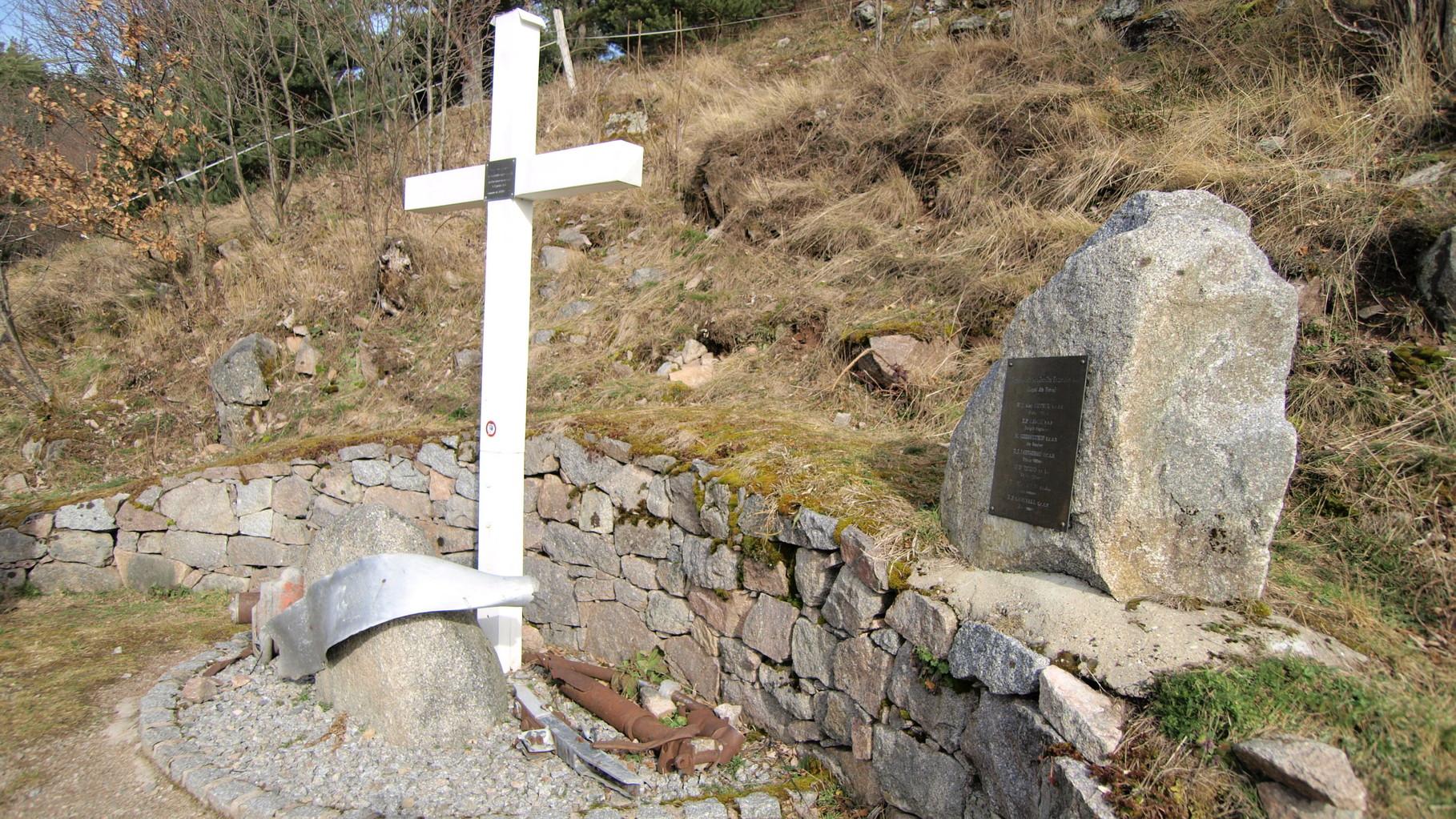 Stèle du crash du Lancaster