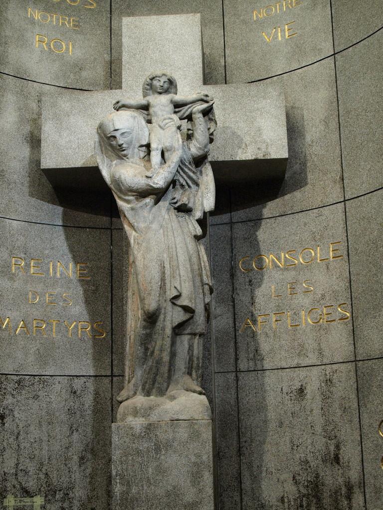 Antoine Bourdelle : oeuvre préparatoire à la vierge de Niederbrück