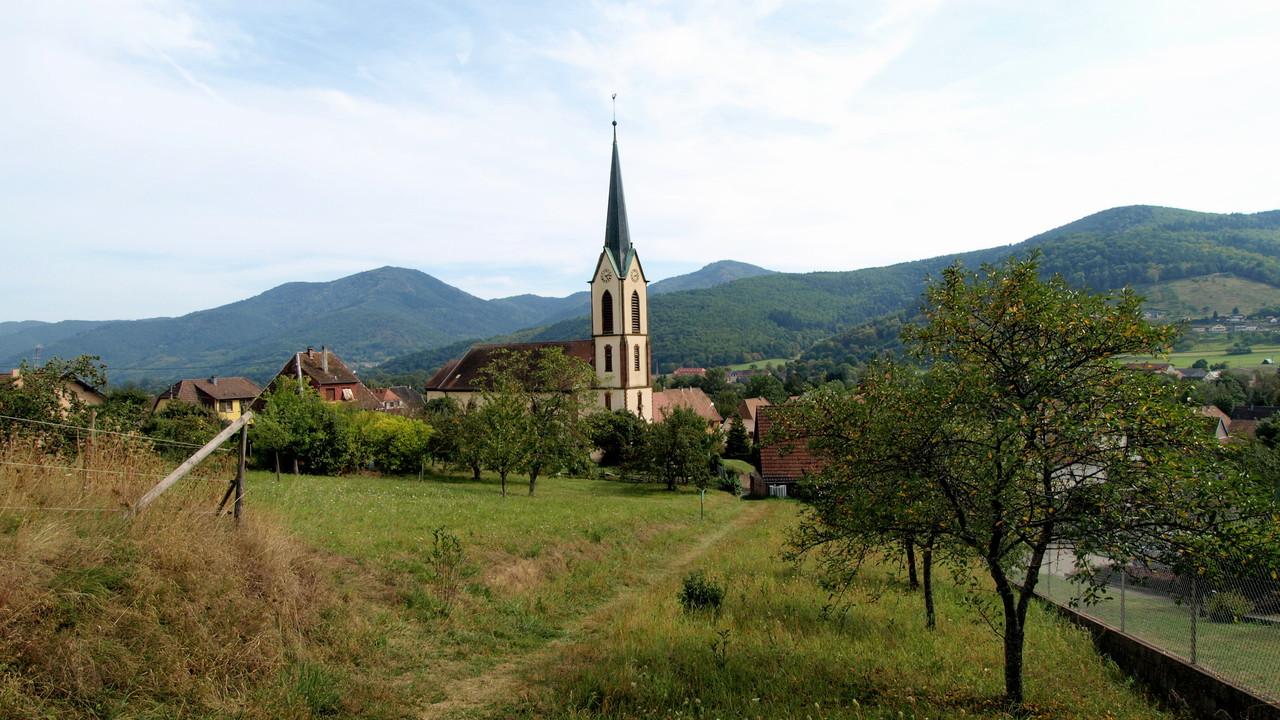 église simultanée de Gunsbach