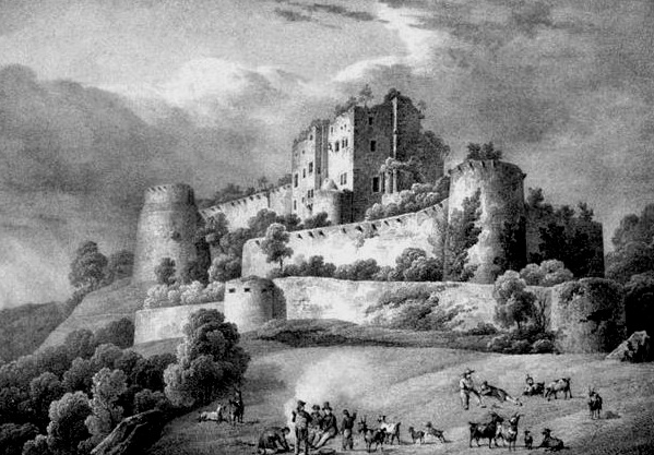 Le Haut-Koenigsbourg en Alsace jusqu'en 1871