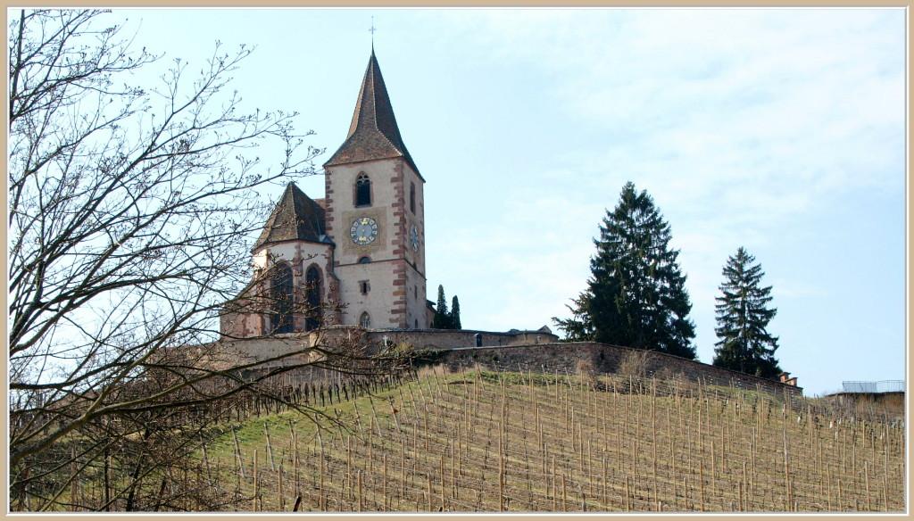 L'église fortifiée de Hunawihr