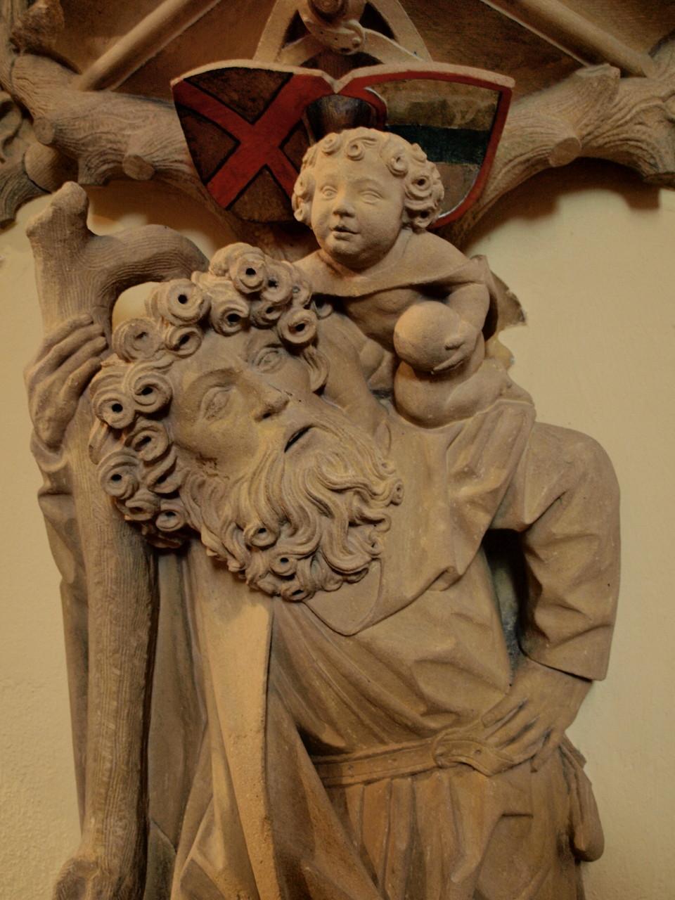 St Christophe et l'enfant Jésus