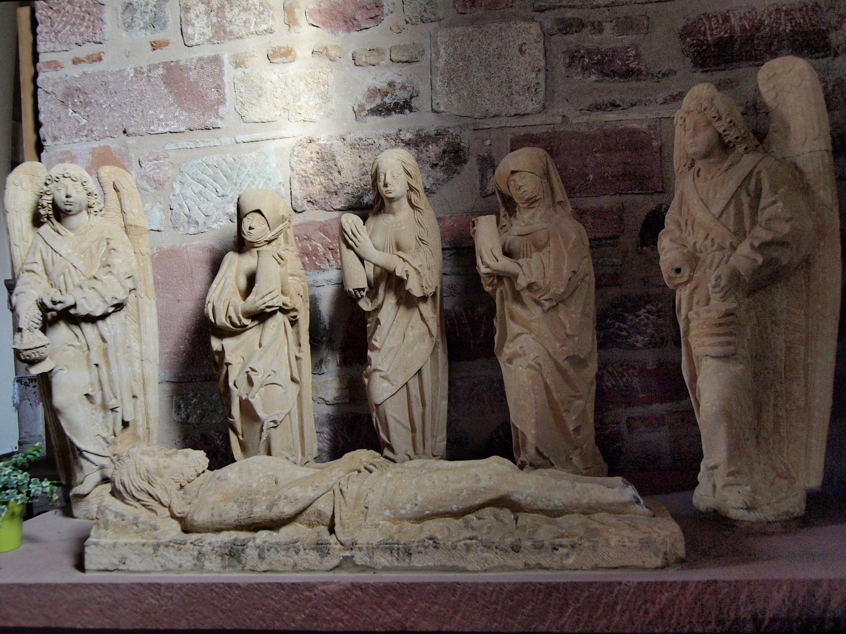 Mise au tombeau.