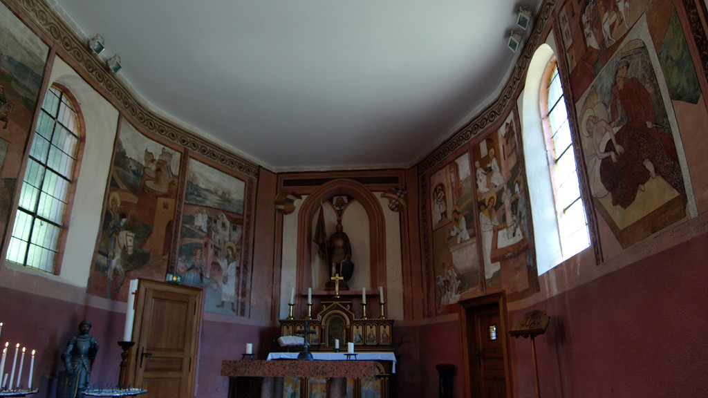 Les fresques du XVème siècle