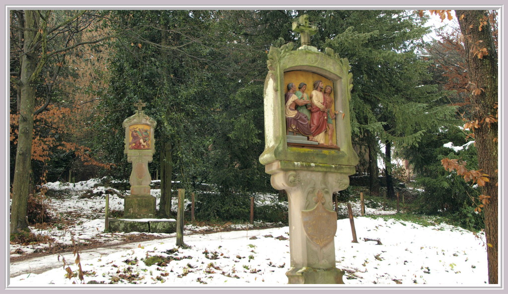 Oelberg : chemin de croix