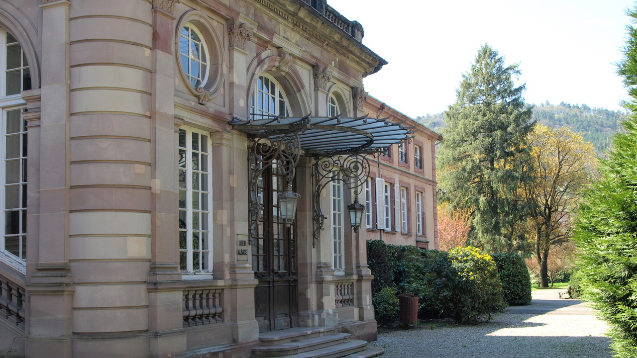 Neuenburg résidence du Prince-Abbé de Murbach