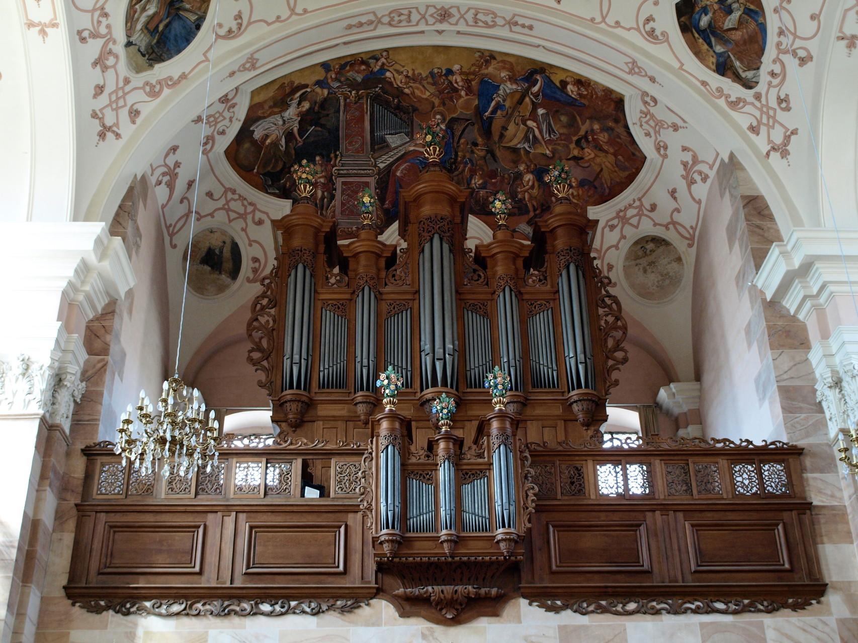 Eglise abbatiale Saint Maurice : orgue Silbermann