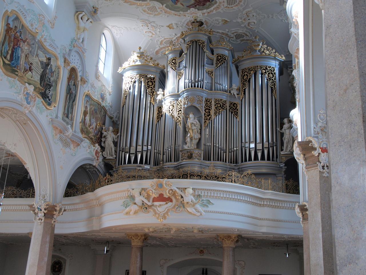 Orgue du facteur d'orgues Zurichois Mertzler