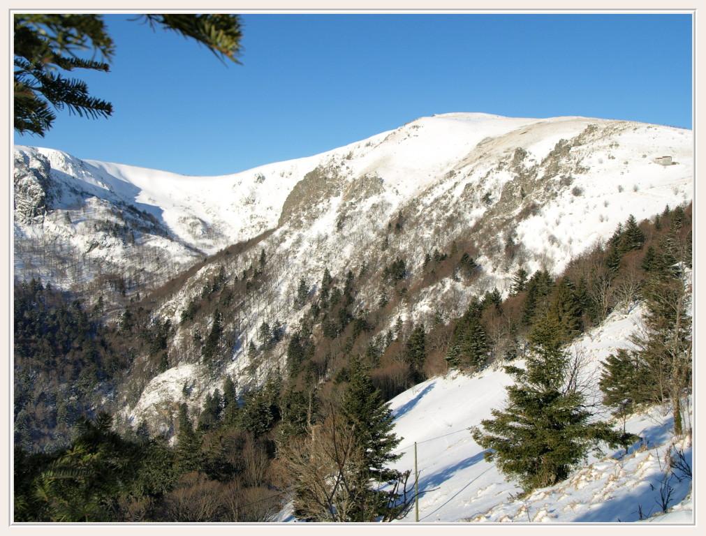 Le Massif du Hohneck en hiver
