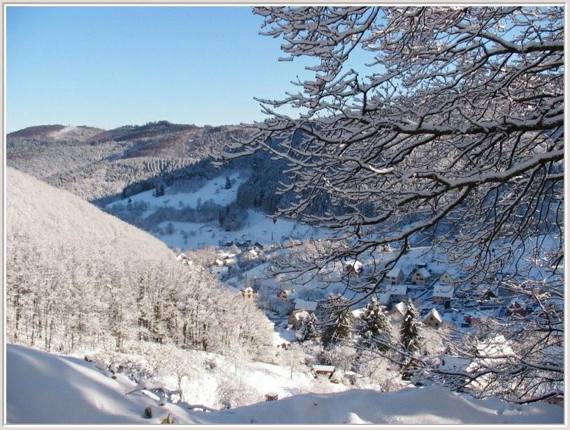 Wasserbourg en hiver