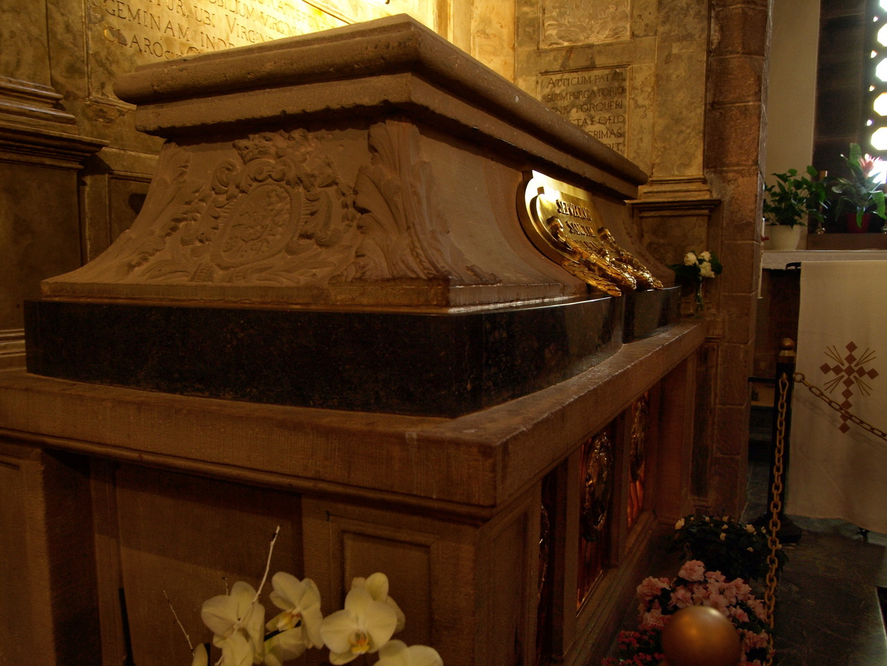 Le tombeau de Sainte Odile