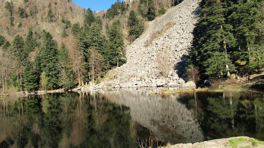 Lac du Fischboedle au printemps