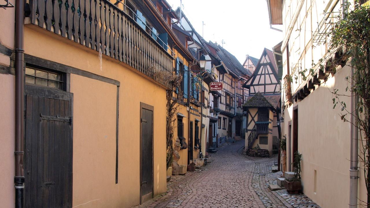 Eguisheim rue du Rempart
