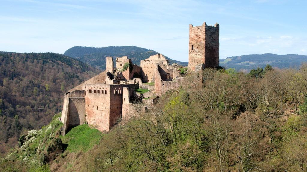 Saint Ulrich vu du Girsberg