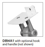 ICWUSA 医療機器向けモニターアーム 先端ブラケット ウェルチアレン