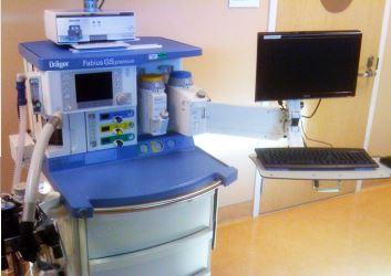 医療機器, モニターアーム, 麻酔器, ドレーゲル, ファビウスGS, 医療機器, MD18シリーズ, ディスプレイ, キーボード