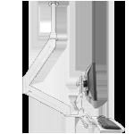 ICWUSA ELP6220シリーズモニターアーム シーリングマウント ガススプリング