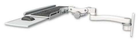 ICWUSA 医療用モニターアームキーボードトレイ