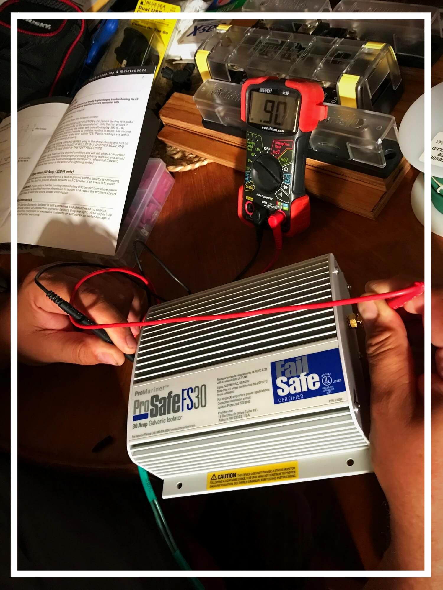 Kabel für galvanische Trennung selbst hergestellt