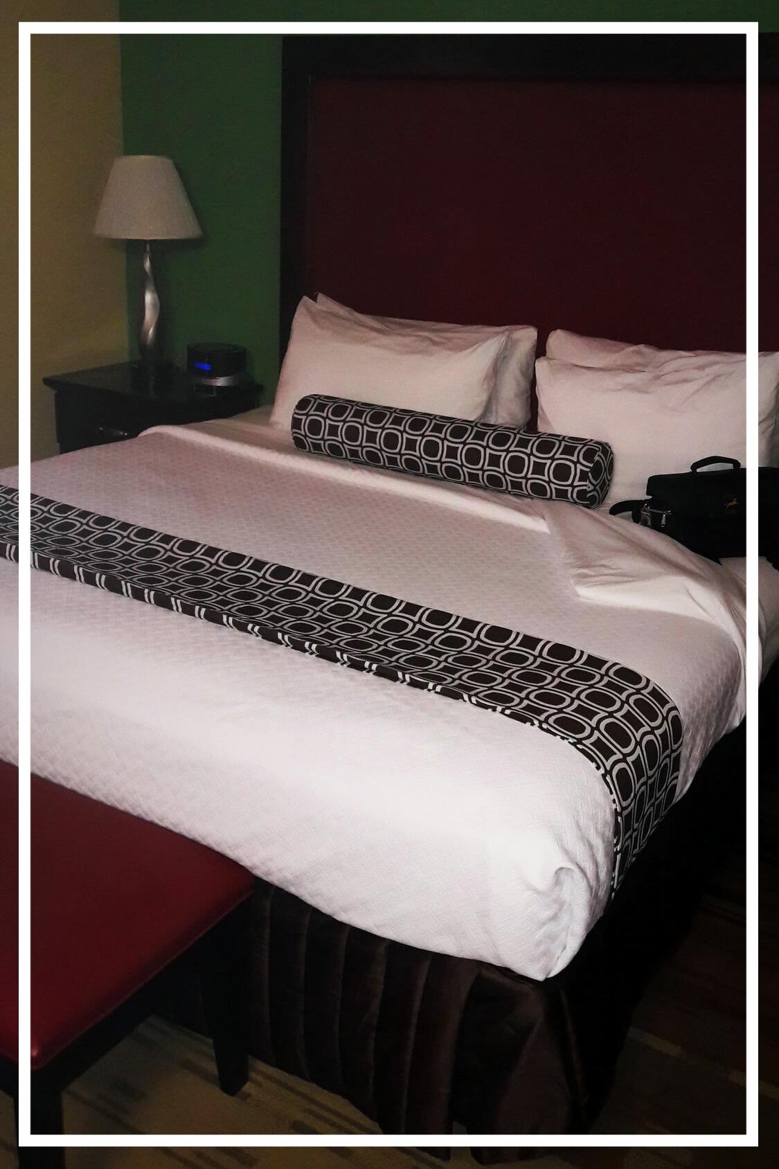 Am Ende des Tages erwartete mich ein King-Size-Bett ;-)