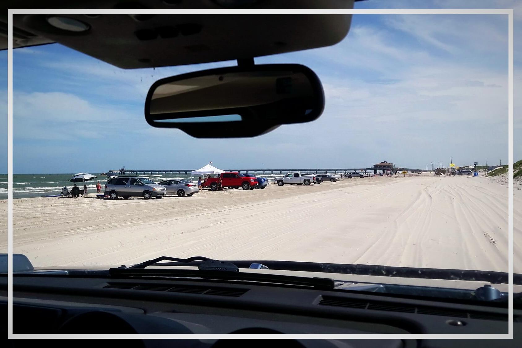 Strand auf Padre Island