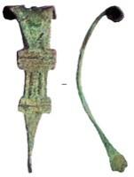 Exemple de fibule type Feugère 21b1. Crédit: CNRS