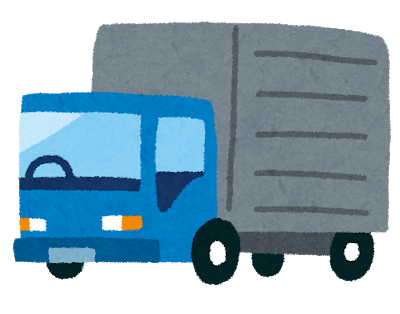 トラックで機材を運搬「トランポ」