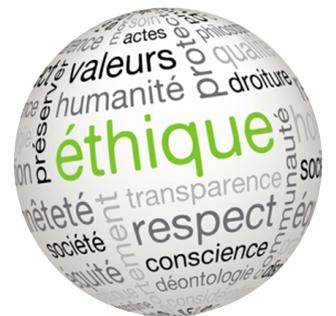 éthique déontologie respect confiance