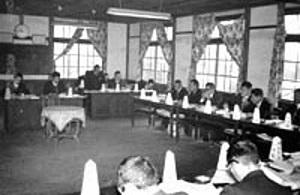昭和30年代 村議会