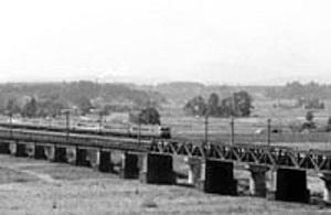 昭和44年 鬼怒川鉄橋