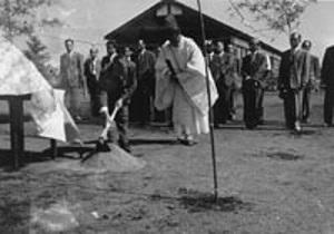 昭和40年代 岡本西小学校開校