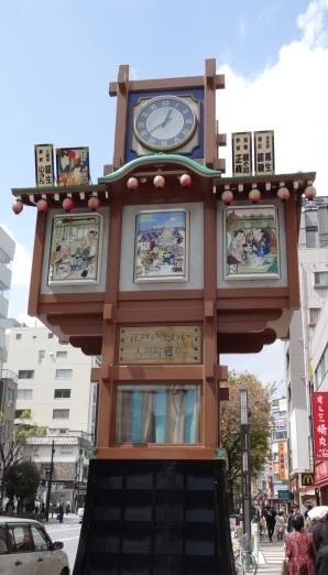 人形町のシンボル グルメ通を唸らす名店が揃っています。