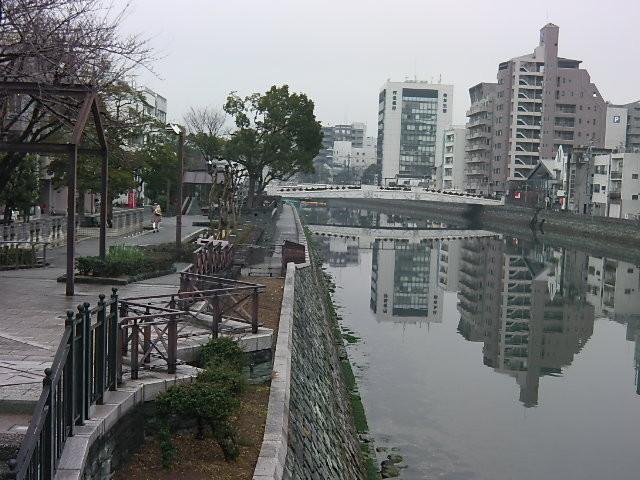 新町川 / 水際公園