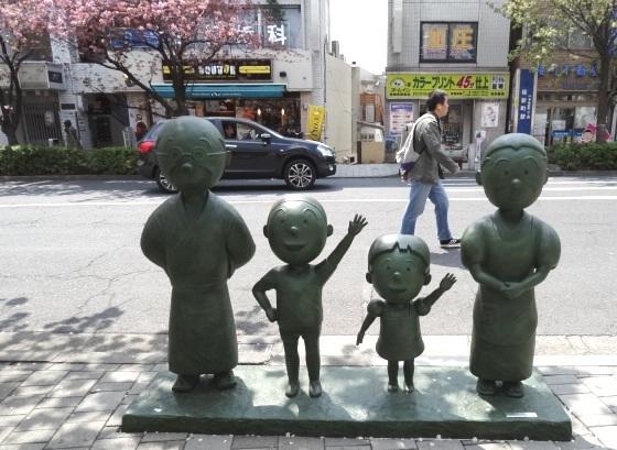 波平さん カツオちゃん ワカメちゃん フネさん