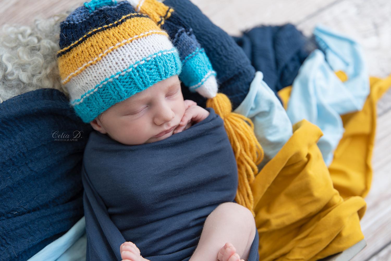 Séance photo nouveau-né proche de Beaune et Dijon