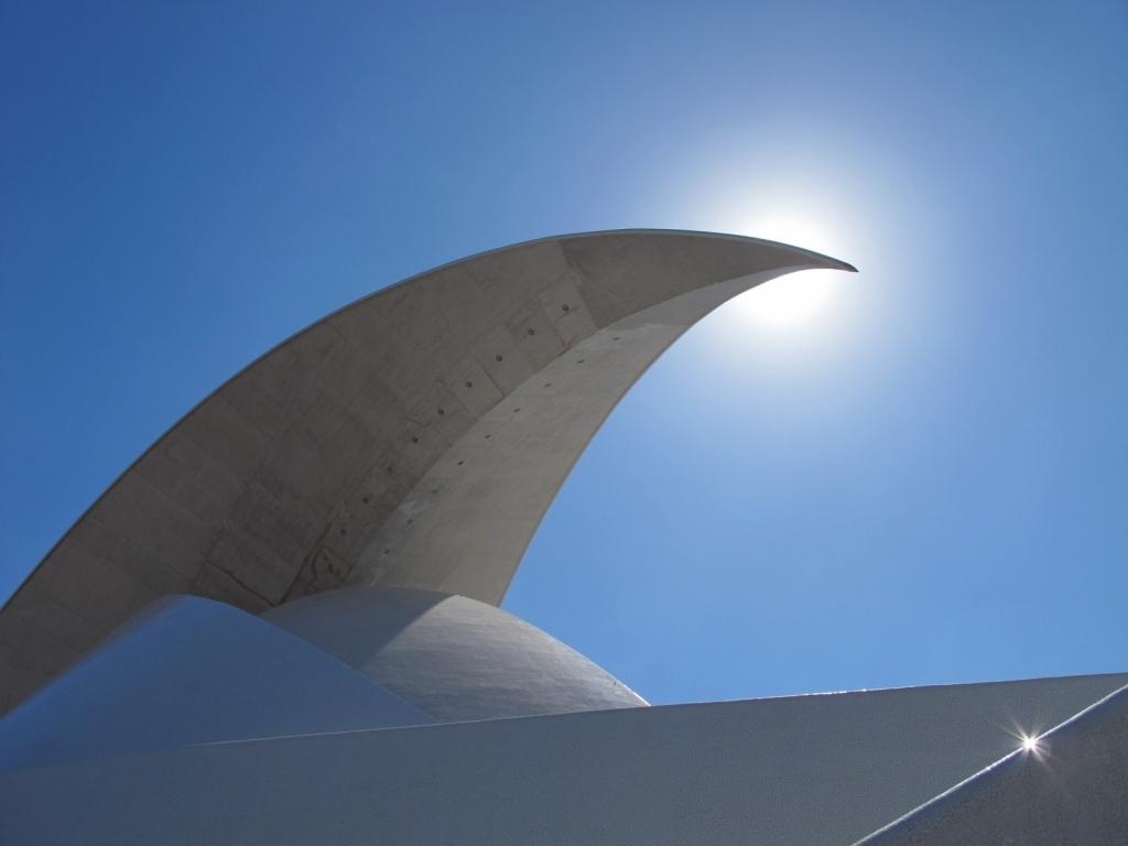 "Calatrava ""Auditorio de Tenerife"""